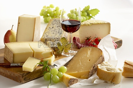 a, still, life, of, french, cheeses - 29892830