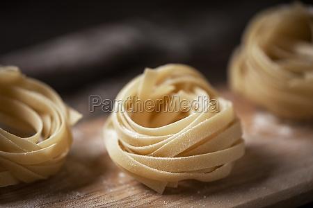 home made ribbon pasta
