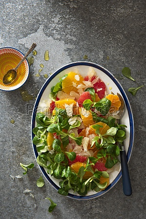 grapefruit orange satsuma and pomelo salad