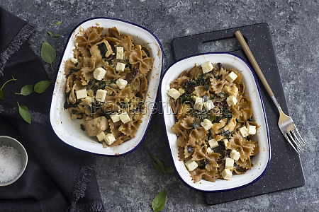 pasta bake with chicken sun dried