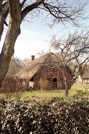 old farmhouse of sylt