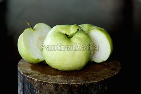 guava is a common tropical fruit