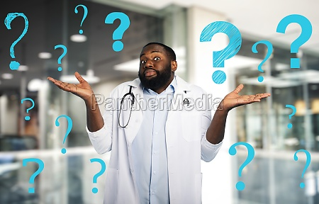 doctor has question and doubt about