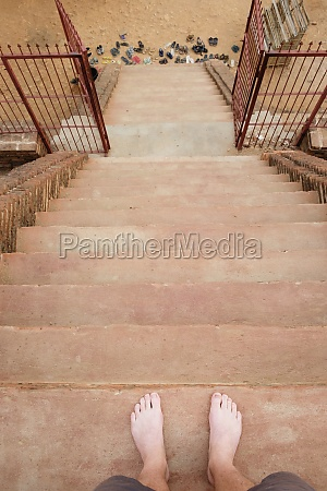stairway bagan archaeological zone buddhist temples
