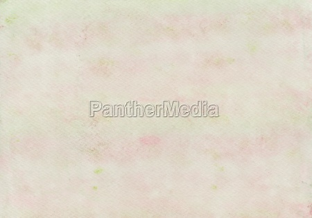 watercolor painting in pink and green