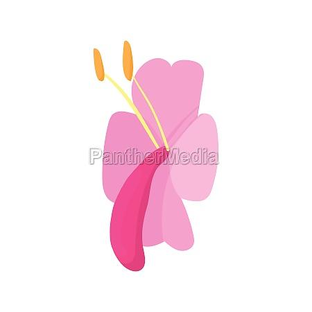 lily icon cartoon style