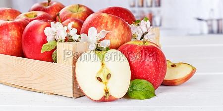 apples fruits red apple fruit banner