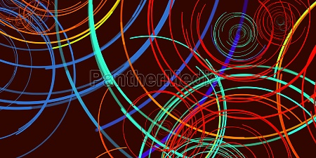 morphing mesmerizing lines abstract pattern