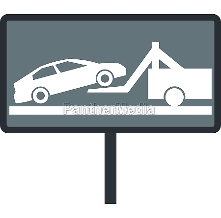 sign evacuation of cars to impound