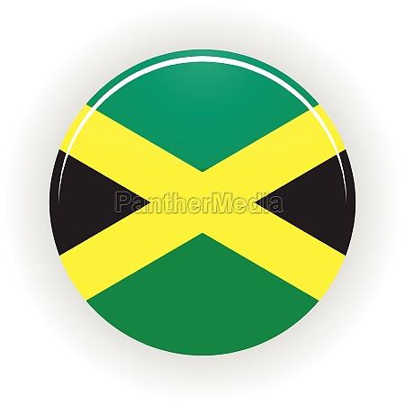jamaica icon circle