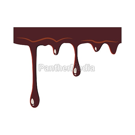 dripping chocolate icon