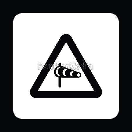 sign is prohibited noise icon simple