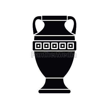 ancient jug icon simple style
