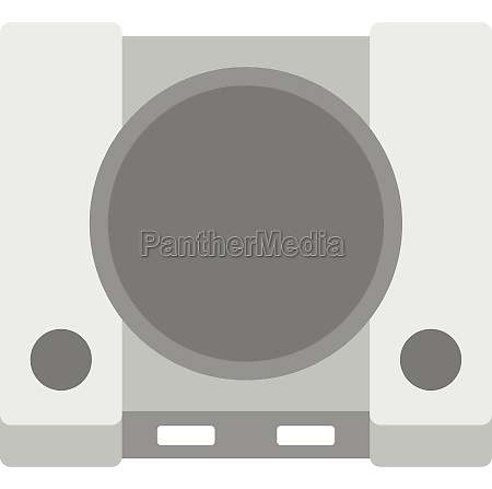 game console icon flat style