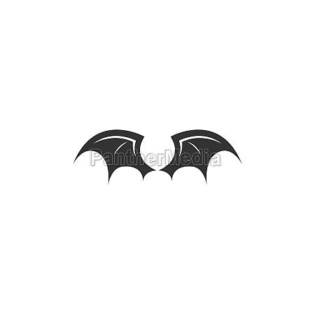 wing logo icon symbol design template
