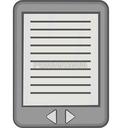 e book icon black monochrome style