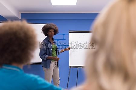 black woman speaker seminar corporate business