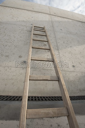 a ladder for climbing up
