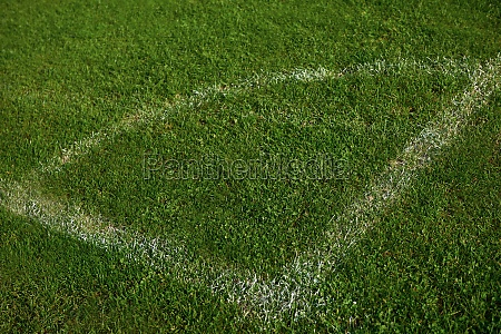 corner of the soccer field