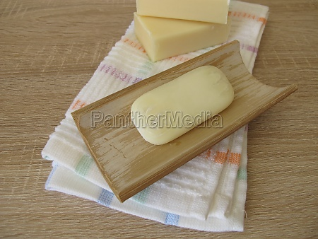 unhygienic old contaminated soap used for