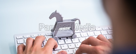 trojan horse computer virus crime attack