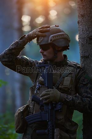 soldier portrait