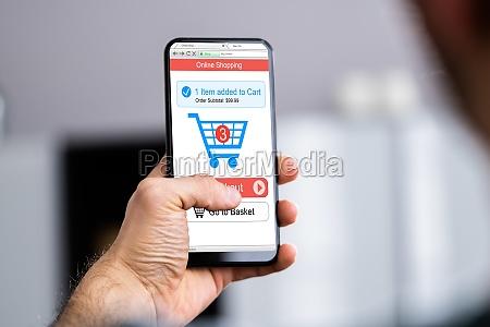 online ecommerce shop website