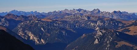stunning view from mount niesen