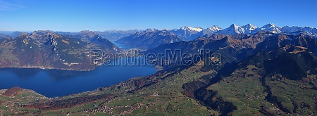 autumn day in the bernese oberland