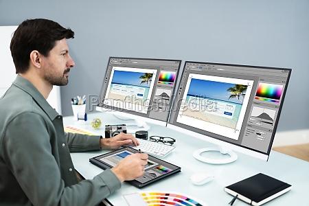 designer and photographer