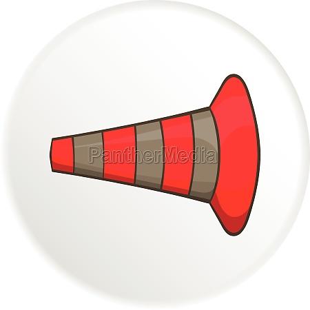 safety cones icon cartoon style
