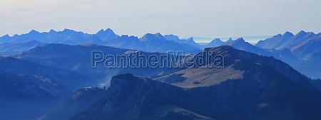view from mount niesen