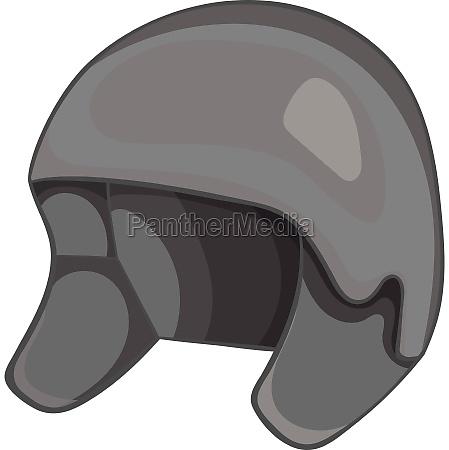 snowboard helmets icon gray monochrome style