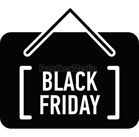 card black friday icon simple style