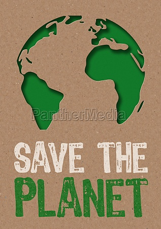 paper cut save the planet