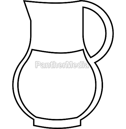 drink sangria icon outline style
