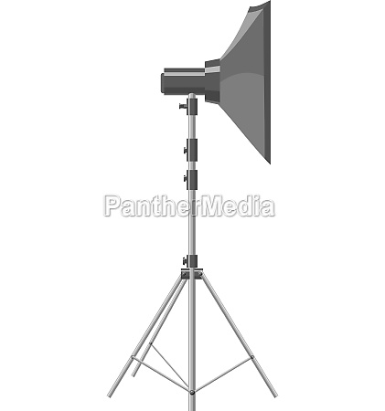 spotlight for shooting icon gray monochrome
