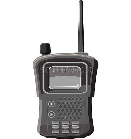 military radio transmitter icon