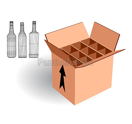 wine case for export