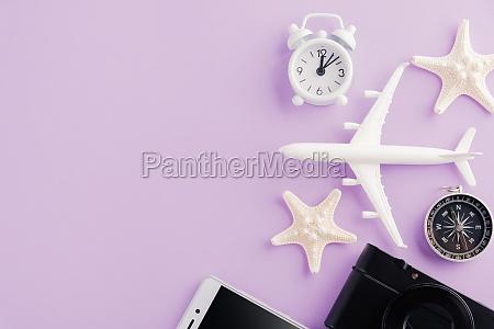 model plane airplane starfish alarm clock