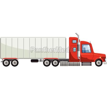 truck icon cartoon style