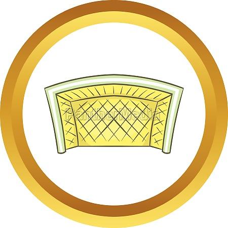 football goal vector icon