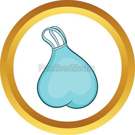 garbage bag vector icon