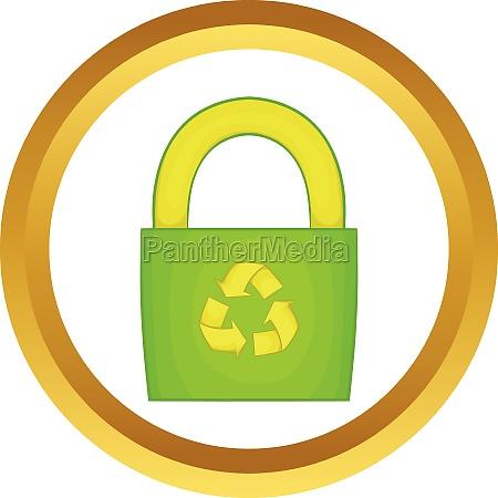 eco bag vector icon
