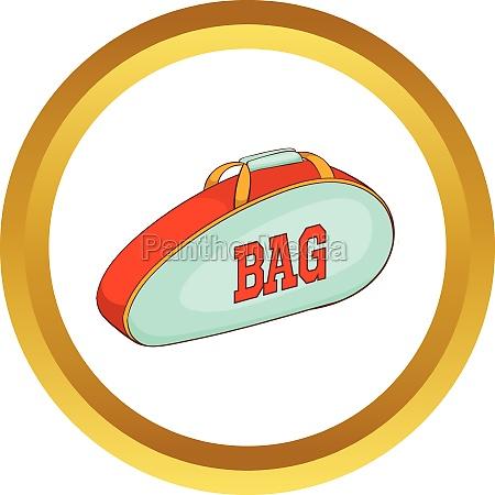 tennis, bag, vector, icon - 30144632