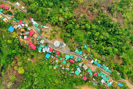 aerial view of lushai an heritage