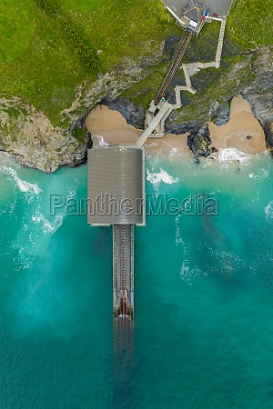 aerial, view, of, padstow, life, boat - 30150785