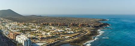 aerial view of palm mar tenerife