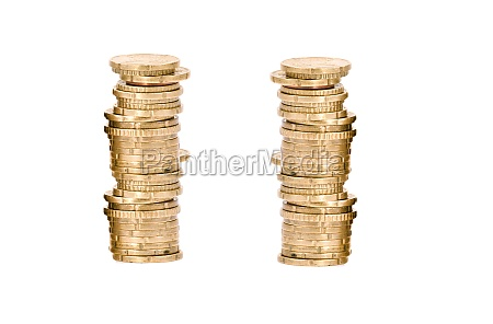 coins isolated