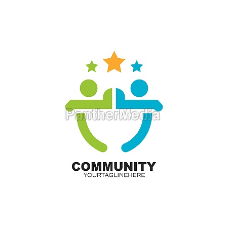 community network and social people icon
